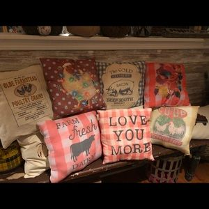 Farmhouse Pillows Handmade